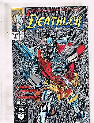 Lot of 5 Deathlok Marvel Comic Book #1 2 3 4 5 KS2
