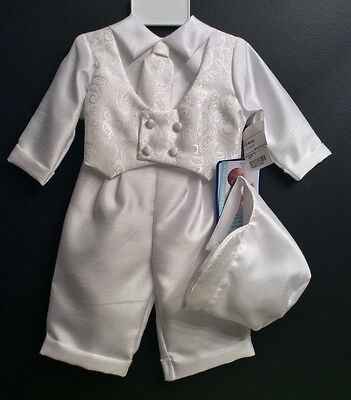 Infant Boys Christening Outfit: Size 6-9 months