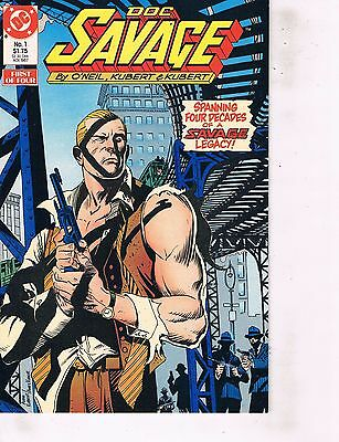 Lot Of 2 Comic Books DC Doc Savage #1 and El Diablo #1  ON7