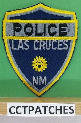 Las Cruces, New Mexico Police (Blue) Shoulder Patch Nm