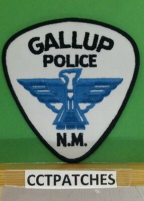 Gallup, New Mexico Police Shoulder Patch Nm