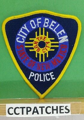 City Of Belen, New Mexico Police Shoulder Patch Nm