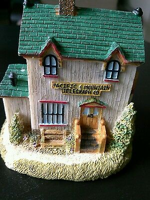 Liberty Falls Village Americana Collection Pacific & Mountain Telegraph Co  AH89