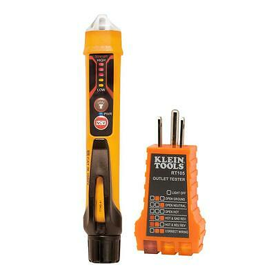 Klein Non Contact Voltage Tester Pen Electrical Outlet Voltage Test Meter Tool