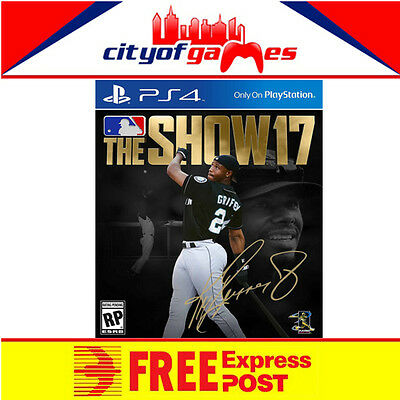 MLB The Show 17 PS4 New & Sealed