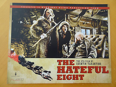 THE HATEFUL EIGHT Movie 11x14 Original Lobby Cards New Beverly Quentin Tarantino