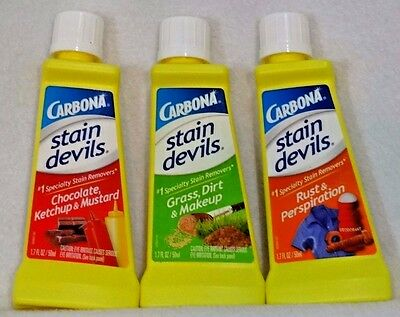 CARBONA Stain Devils Laundry #1 Specialty Stain Remover ~ U PICK NEW free ship