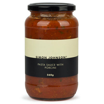 NEW Simon Johnson Pasta Sauce with Porcini 560g