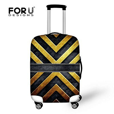Vintage Stripes Luggage Covers Travel Suitcase Protector Elastic Dust-proof Hot