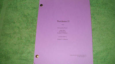 Warehouse 13 Tv Pilot Script - Eddie Mcclintock - Joanne Kelly - Saul Rubinek