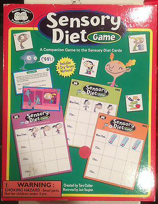 Sensory Diet Game for Autism Behavior Social Skills ADHD New Open Box Therapy