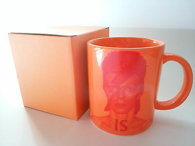 NEW in BOX DAVID BOWIE Is Exhibition Official GOODs Mug Japan
