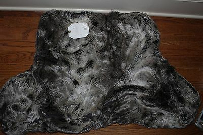 NWT Pottery Barn PB Teen Lounge around faux fur pillow cover