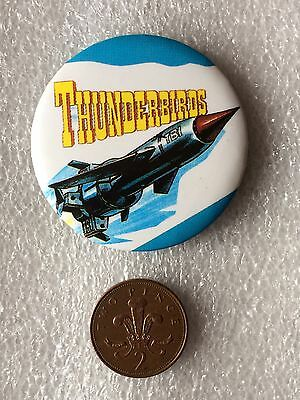 Thunderbird 1 Button Pin Badge (See Pictures)
