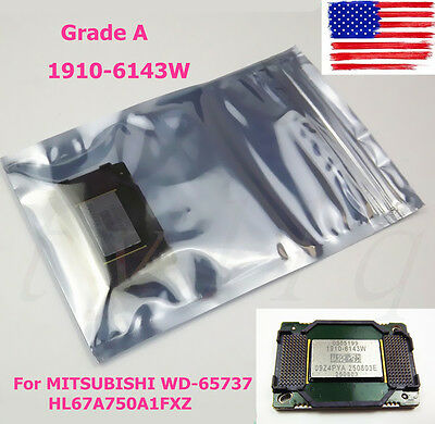 TV DMD Chip DLP 1910-6143W For MITSUBISHI WD-65737 HL67A750A1FXZ (Grade A)