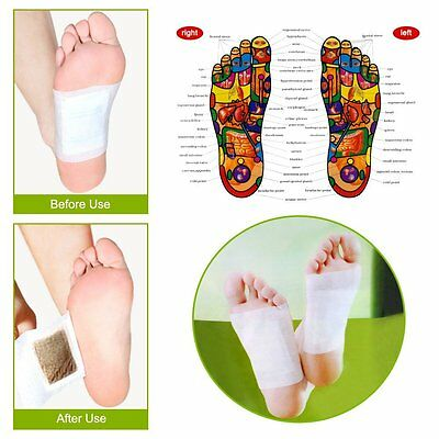 Kinoki Cleansing Detox Foot Pads Patches Feet Detoxification Pads 15/25/50 Pairs