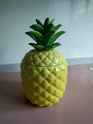 Large Pineapple Biscuit/Lolly Jar
