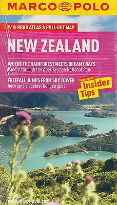 New Zealand Marco Polo Travel Guide BRAND NEW (Paperback + Pull-out Map 2012)