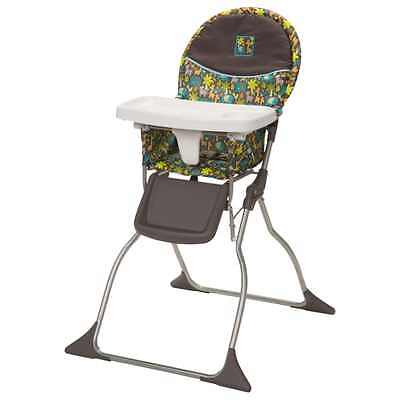 NEW Slim Fold High Chair Wild Things Baby Feeding Seat Safe Portable adjustable