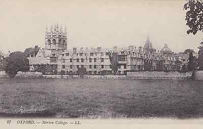 Old Postcard of Oxford All Souls College LL
