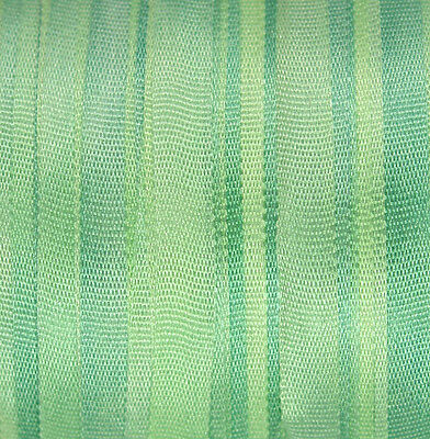 Silk Ribbon for Embroidery 4mm - 3 meters Pastel Green