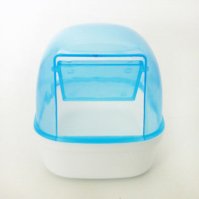 Small Animal Plastic Pet Hamster Bathroom Bath Sand Room Sauna Toilet