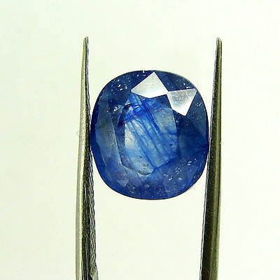 6.63 Ct Certified Natural Blue Sapphire Loose Oval Gemstone Stone - H 117743
