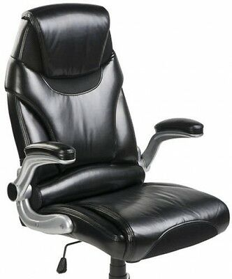 Merax High Back PU Leather Executive Reclining Office Chair