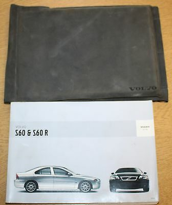 Volvo S60 S60R Handbook Owners Manual And Wallet 2004-2009 Pack 8727