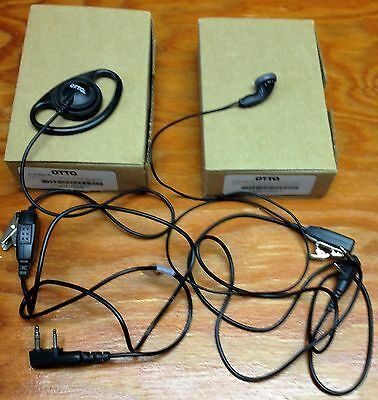 OTTO E1-ET2KA 131 Ear Hanger and Ear Bud to replace headsets New talk & listen