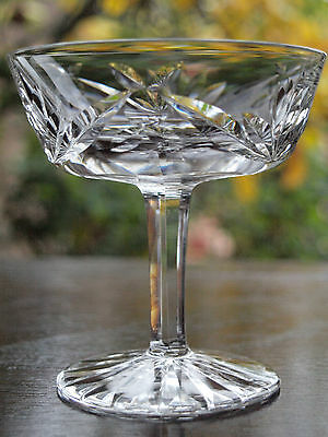Waterford Crystal Ashling Champagne/ Tall Sherbet Glass Vintage Made in Ireland