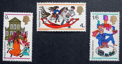 Great Britain 1968 'Christmas' SG775/777 Mint (MNH) Set