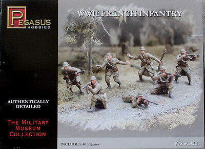 1/72 PEGASUS: WWII French Infantry