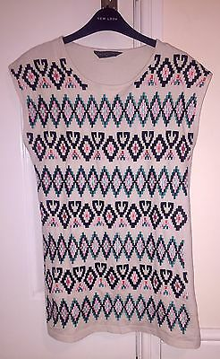 Maternity T-Shirt Top Size 10 Blooming Marvellous Tunic