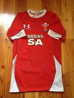 4.5/5 Wales Home Rugby Union 2008 2010 Shirt Jersey Under Armour