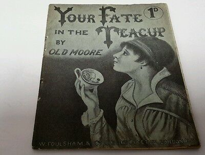 Vintage Fortune  telling book