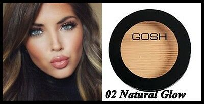 NEW GOSH Bronzing Powder for Perfect Look - 02 Natural Glow / Paraben-Free