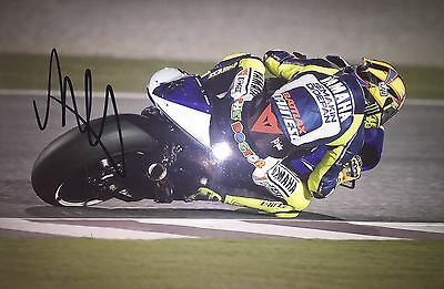 Valentino Rossi Personally Signed Photo, MotoGP, Yamaha, 46, Proof Shown, 3