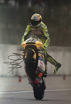 Valentino Rossi Personally Signed Photo, MotoGP, Proof Shown, 6