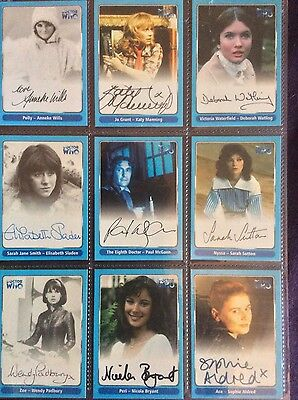 Rare Dr Who auto autograph card A15 - Sophie Aldred as Ace