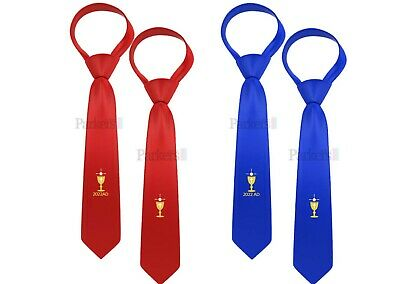 Official Parkers New Boys First Holy Communion Tie Red Blue Dated Undated 2018