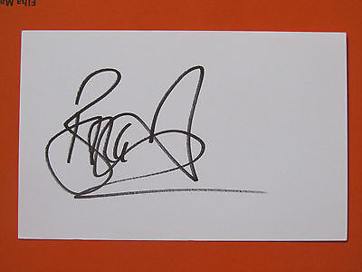 Brian Deane Signed Sheffield Leeds United Middlesbrough Leicester City England