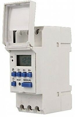 Foxnovo AC 220V 16A Digital LCD 7-Day Programmable Timer Time Relay Switch