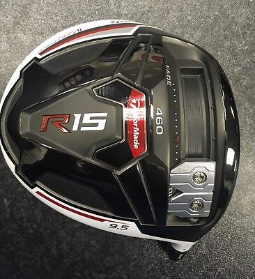 New Taylormade R15 460 9.5' Head Only No Adapter