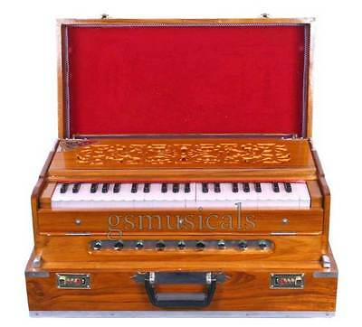 Harmonium 3 Set Teakwood Box Model Gsm042