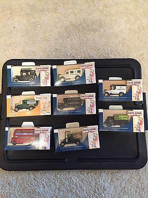 days gone diecast models X8 Collection Collecting Lledo Vintage