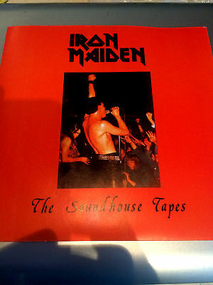 """Iron Maiden The Soundhouse Tapes Light Blue  7"""" Rare"""