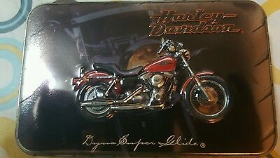 Harley Davidson 1999 Limited Edition  Playing Cards and Collectible Tin
