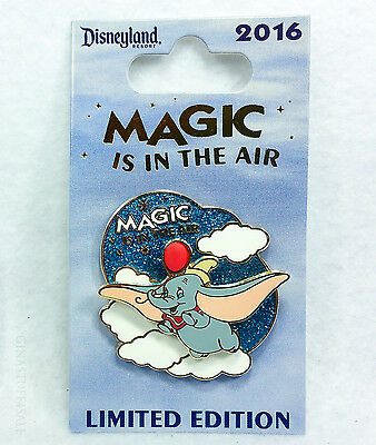 Disney Pin MAGIC IS IN THE AIR DUMBO Limited Edition Series Disneyland