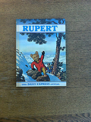 Vintage Rare Rupert Bear Annual Printed By Daily Express 1970